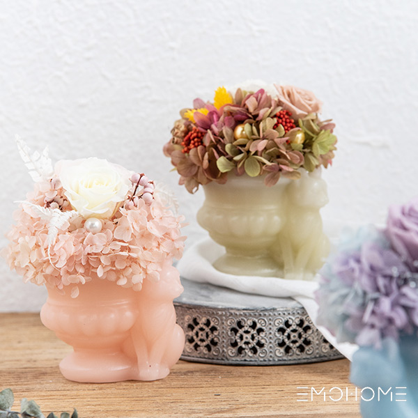Восковая ваза