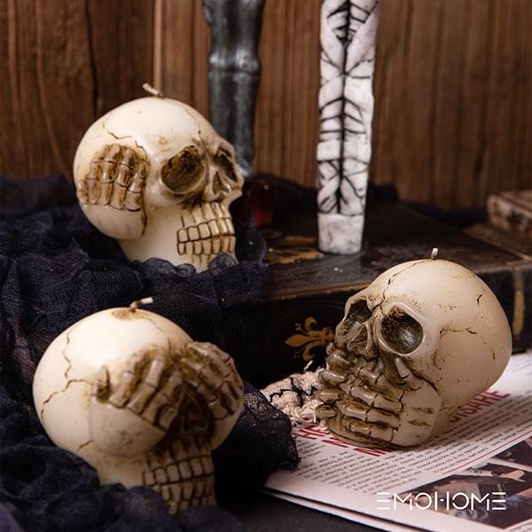 Свеча хэллоуина